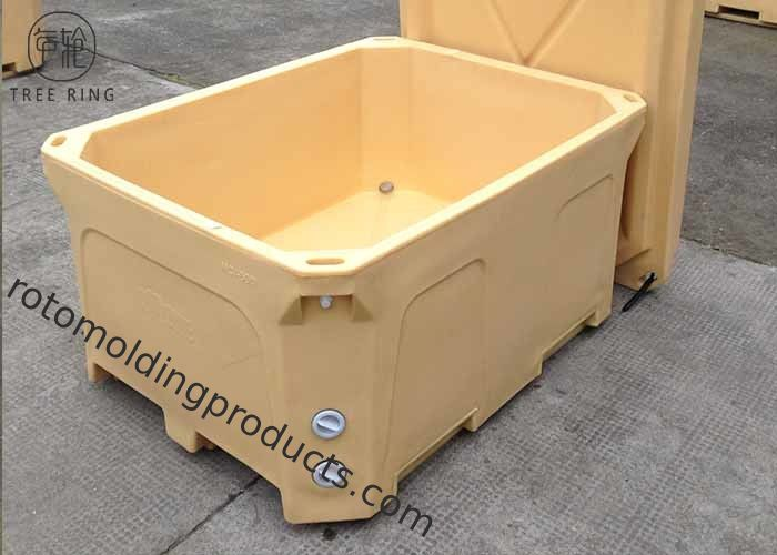 Portable Tote Cooler Dry Ice Boxes 660L Providing Good Cold Insulation Heavy Duty