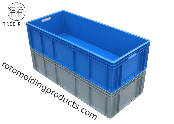 Long Large Heavy Duty Plastic Storage Boxes With Hinged Lids 900 * 400 * 230mm