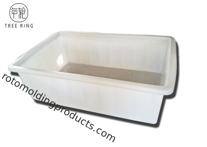 Garment Heavy Duty Large Plastic Laundry Tub 1720 * 1305 * 730 Mm K1400L Industrial
