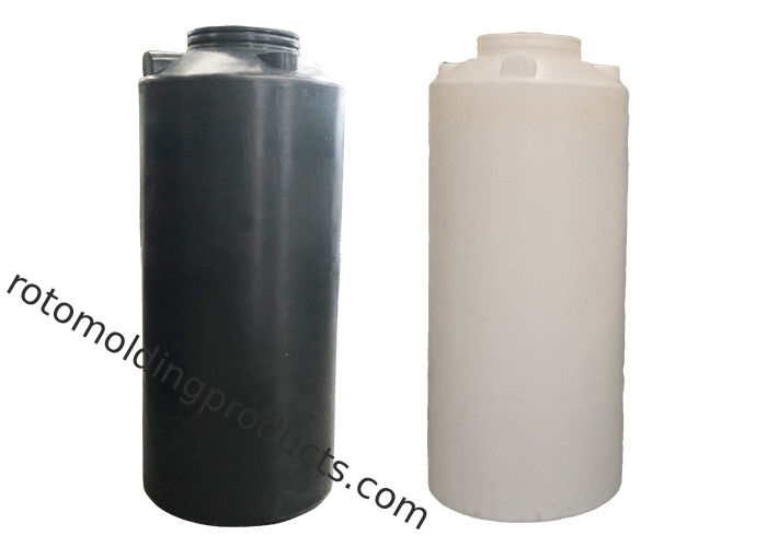 1000L Roto Mold Tanks Black Color PE Vertical Water Storage Tank For Farm